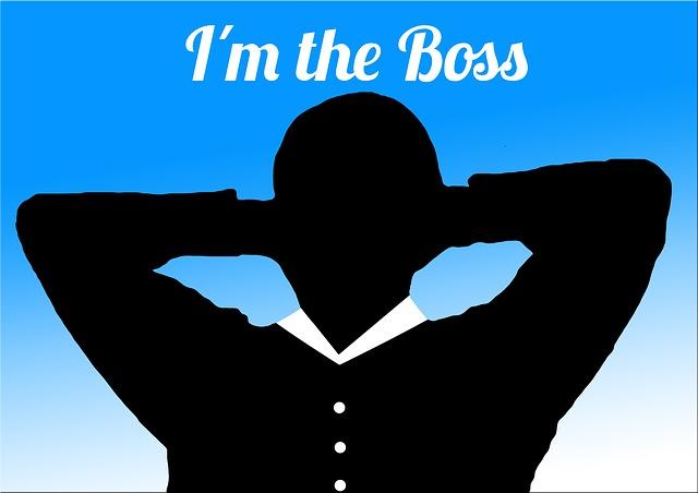 já jsem šéf